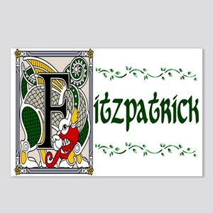 Fitzpatrick Celtic Dragon Postcards (Package of 8)