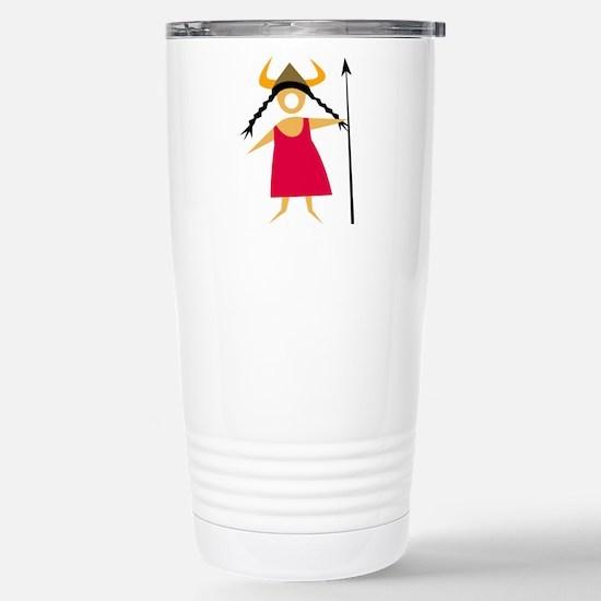 Hildegarde Stainless Steel Travel Mug