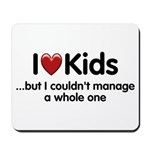 The Kids Lunchtime Mousepad