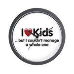The Kids Lunchtime Wall Clock