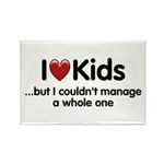 The Kids Lunchtime Rectangle Magnet (10 pack)