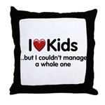 The Kids Lunchtime Throw Pillow