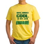 Being Cool Yellow T-Shirt