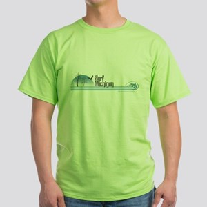 Surf Michigan Green T-Shirt