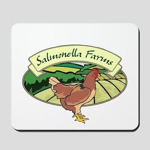 Salmonella Farms - Chicken Mousepad