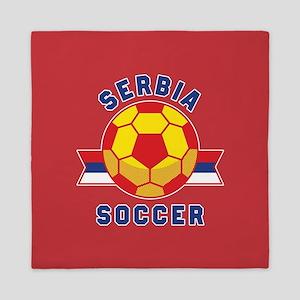 Serbia Soccer Queen Duvet