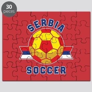 Serbia Soccer Puzzle