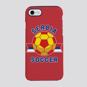 Serbia Soccer iPhone 8/7 Tough Case