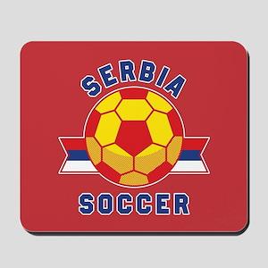 Serbia Soccer Mousepad