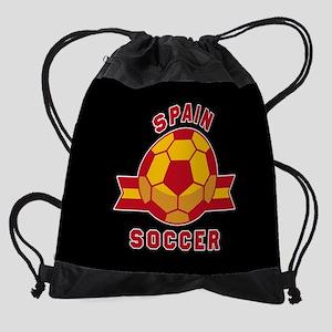 Spain Soccer Drawstring Bag