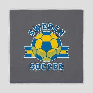 Sweden Soccer Queen Duvet