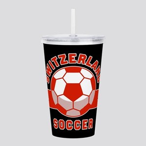 Switzerland Soccer Acrylic Double-wall Tumbler