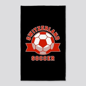 Switzerland Soccer Area Rug