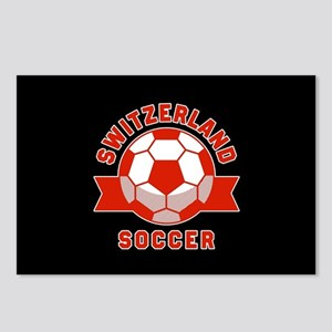 Switzerland Soccer Postcards (Package of 8)