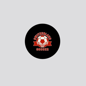 Switzerland Soccer Mini Button