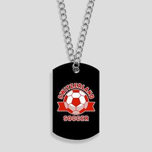 Switzerland Soccer Dog Tags