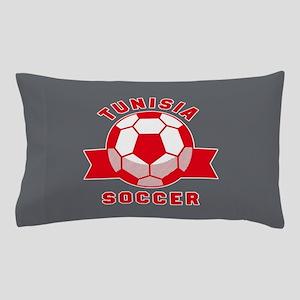 Tunisia Soccer Pillow Case