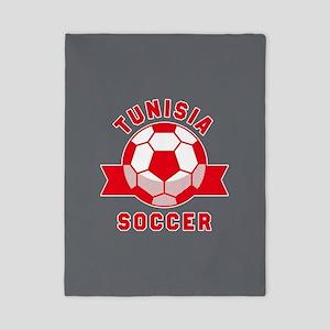Tunisia Soccer Twin Duvet Cover