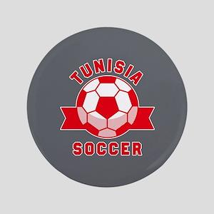 """Tunisia Soccer 3.5"""" Button"""