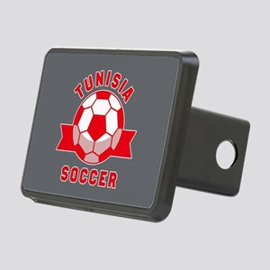 Tunisia Soccer Rectangular Hitch Cover