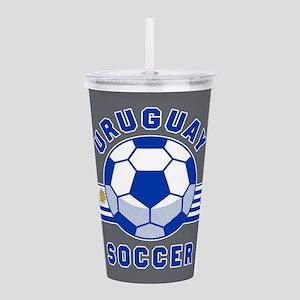 Uruguay Soccer Acrylic Double-wall Tumbler