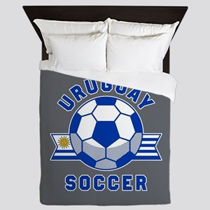 Uruguay Soccer Queen Duvet