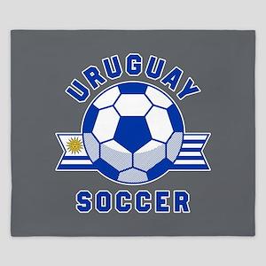 Uruguay Soccer King Duvet