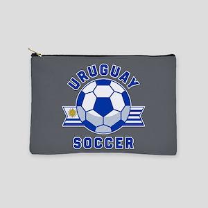 Uruguay Soccer Makeup Bag