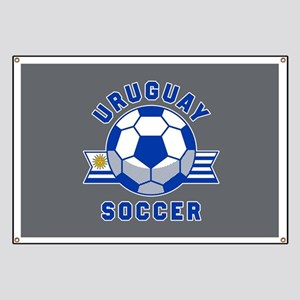 Uruguay Soccer Banner