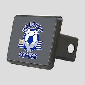 Uruguay Soccer Rectangular Hitch Cover