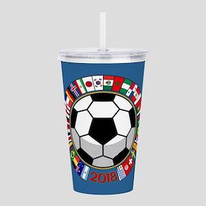 Soccer 2018 Acrylic Double-wall Tumbler