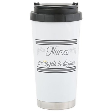 Angels In Disguise Stainless Steel Travel Mug