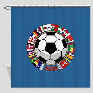 Soccer 2018 Shower Curtain