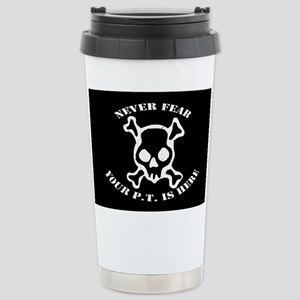 Never Fear Stainless Steel Travel Mug