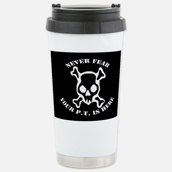 Never Fear Stainless Steel Travel Mug