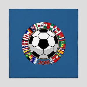 Soccer 2018 Queen Duvet