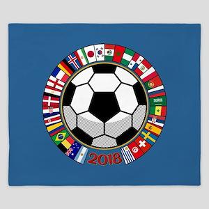 Soccer 2018 King Duvet
