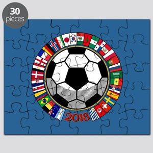 Soccer 2018 Puzzle