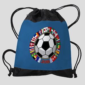 Soccer 2018 Drawstring Bag