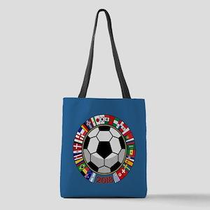 Soccer 2018 Polyester Tote Bag