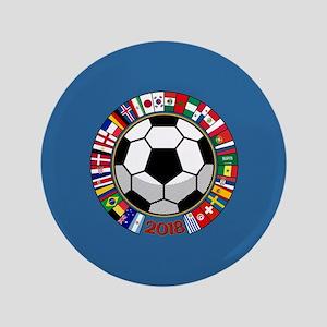 "Soccer 2018 3.5"" Button"