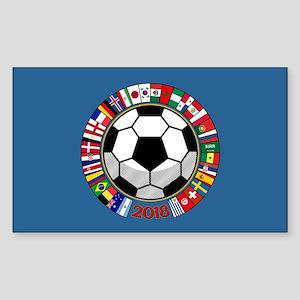 Soccer 2018 Sticker (Rectangle)