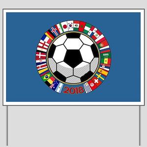 Soccer 2018 Yard Sign