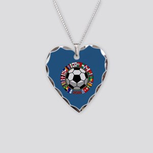 Soccer 2018 Necklace Heart Charm