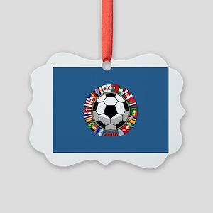 Soccer 2018 Picture Ornament