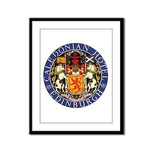 Caledonian Hotel Edinburgh Framed Panel Print