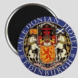 "Caledonian Hotel Edinburgh 2.25"" Magnet (10 p"