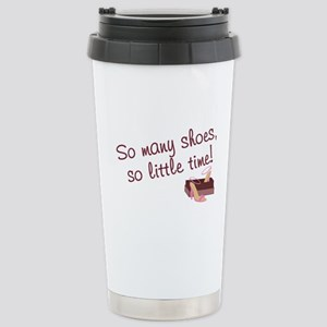 So many shoes... Stainless Steel Travel Mug