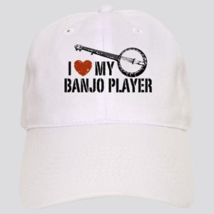 I Love My Banjo Player Cap