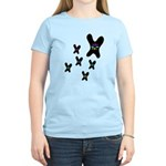 Butterfly Flowers Women's Light T-Shirt